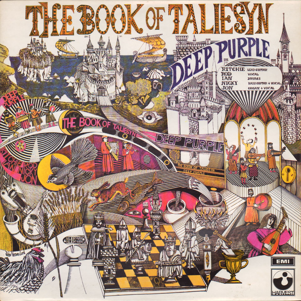 The Book Of Taliesyn (LP, UK, 1968)