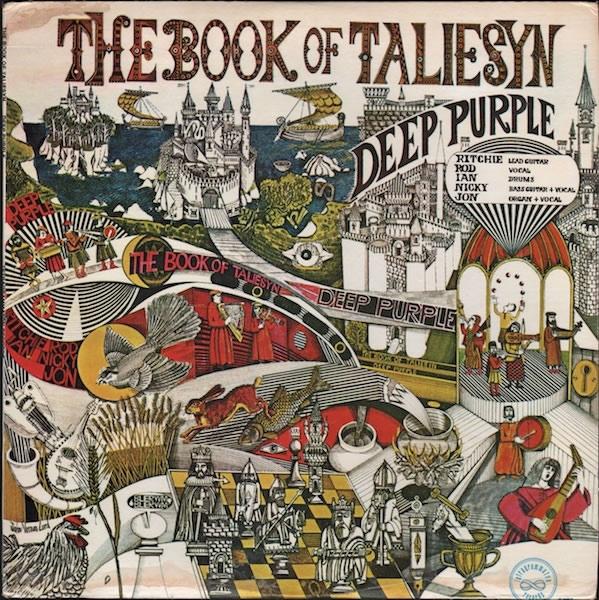 The Book Of Taliesyn (LP, USA, 1968)
