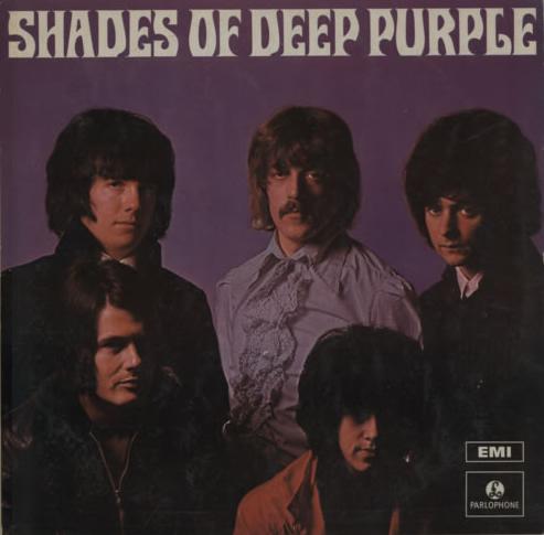 Shades Of Deep Purple (19??) LP India