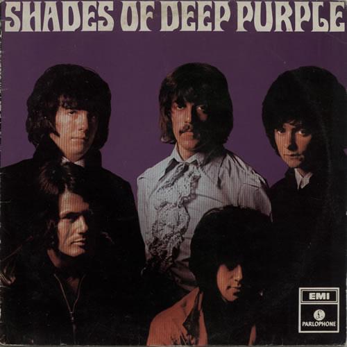 Shades Of Deep Purple (1968) LP New Zealand