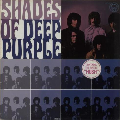 Shades Of Deep Purple (1968) LP USA