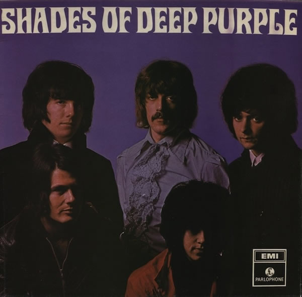 Shades Of Deep Purple (LP, UK, 1968)