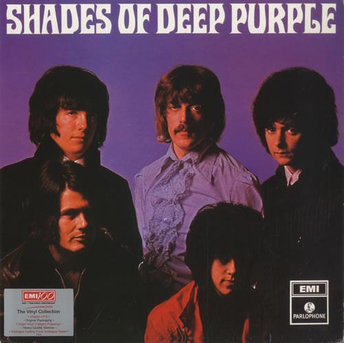 Shades Of Deep Purple (1987) LP Repress England