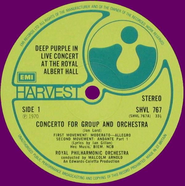 LP, England 1970